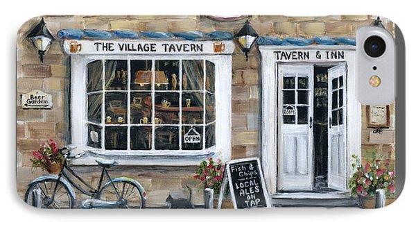 English Tavern And Inn IPhone Case