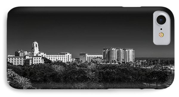 The Vinoy Resort Hotel B/w IPhone Case