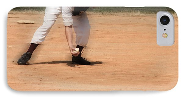 Baseball In The 1860s  IPhone Case by Steven Digman