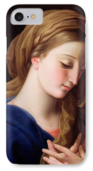 The Virgin Annunciate Phone Case by  Pompeo Girolamo Batoni