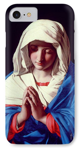 The Virgin In Prayer IPhone Case