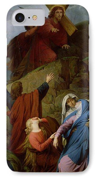 The Virgin Of Calvary IPhone Case