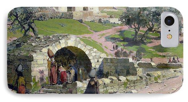 The Virgin Spring In Nazareth IPhone Case by Vasilij Dmitrievich Polenov