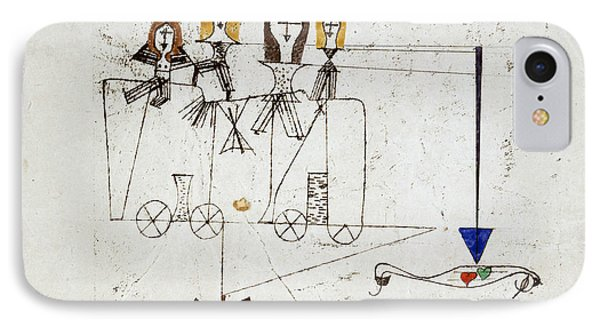 The Virtue Wagon  IPhone Case by Paul Klee