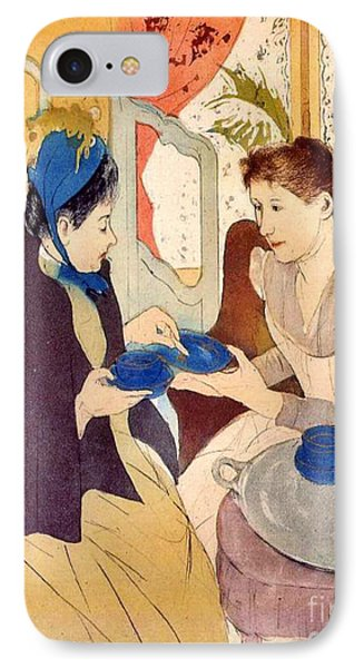 The Visit 1890 IPhone Case by Padre Art