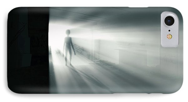 The Visitor IPhone Case by Wim Lanclus