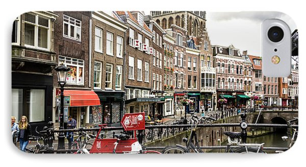 IPhone Case featuring the photograph The Vismarkt In Utrecht by RicardMN Photography