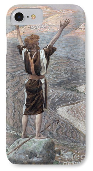 The Voice In The Desert Phone Case by Tissot