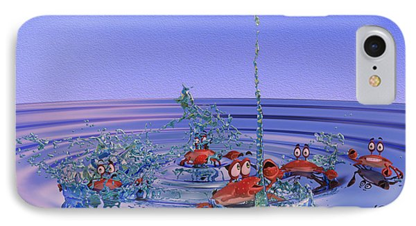 The Wading Pool IPhone Case by Betsy Knapp