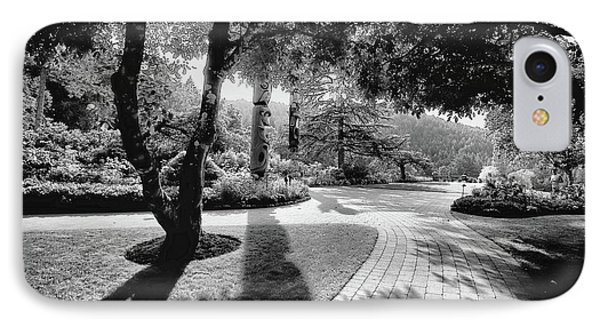 The Walkway Bw Phone Case by Lawrence Christopher