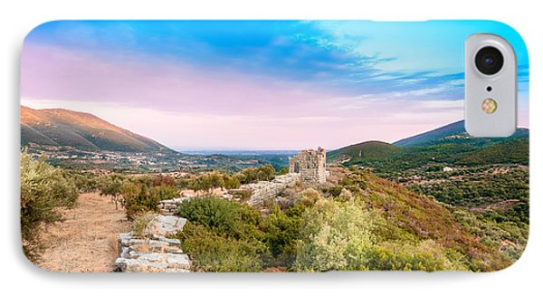 The Walls Of Ancient Messene - Greece. IPhone Case