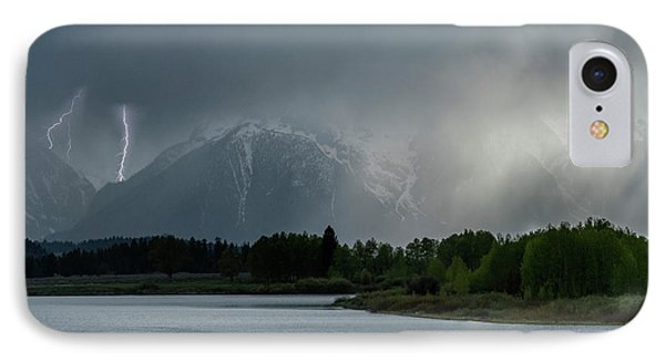 IPhone Case featuring the photograph The Warning by Sandra Bronstein