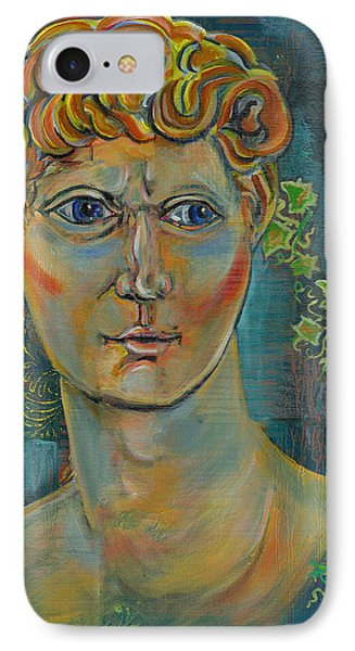 IPhone Case featuring the painting The Warrior by John Keaton