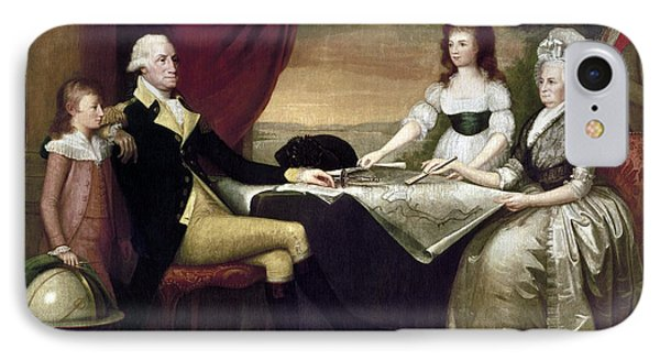 The Washington Family Phone Case by Granger