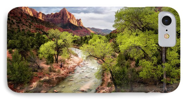 IPhone Case featuring the photograph The Watchman by Eduard Moldoveanu