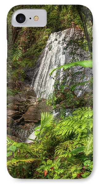 IPhone Case featuring the photograph The Waterfall by Hanny Heim