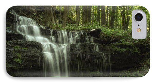 The Waterfall In The Forest IPhone Case