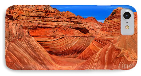 The Wave Wide Panorama IPhone Case by Adam Jewell