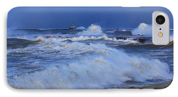The Waves Of Lake Ontario IPhone Case by Everet Regal
