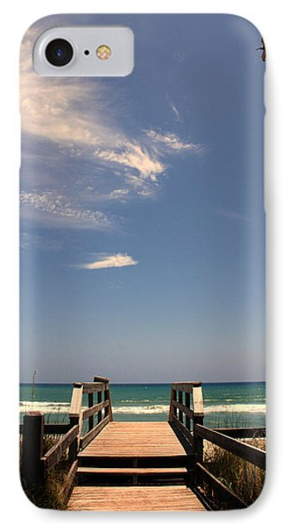 The Way Out To The Beach Phone Case by Susanne Van Hulst