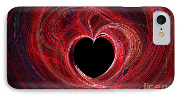 The Way To My Heart Phone Case by Kaye Menner