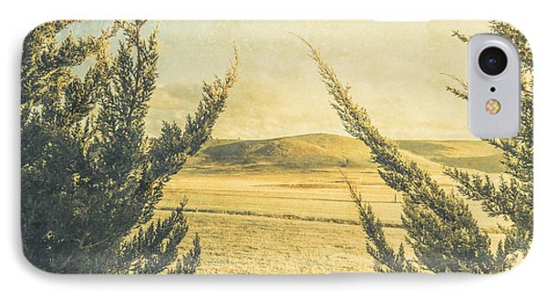 The Wayback Meadow IPhone Case by Jorgo Photography - Wall Art Gallery