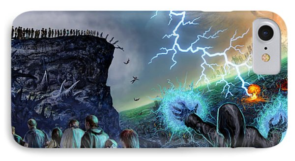The Weak Shall Bring Us Down IPhone Case by Tony Koehl
