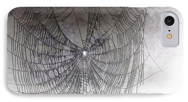 The Web We Weave Phone Case by Margaret Hamilton