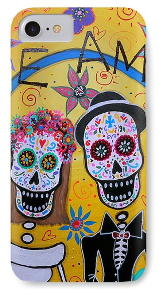 The Wedding Day Of The Dead IPhone Case