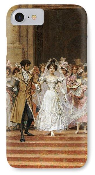 The Wedding IPhone Case by Frederik Hendrik Kaemmerer