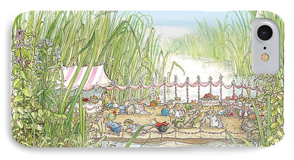The Wedding Party Phone Case by Brambly Hedge