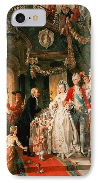 The Wedding Party IPhone Case by Carl Herpfer