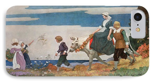 The Wedding Procession IPhone Case by Newell Convers Wyeth