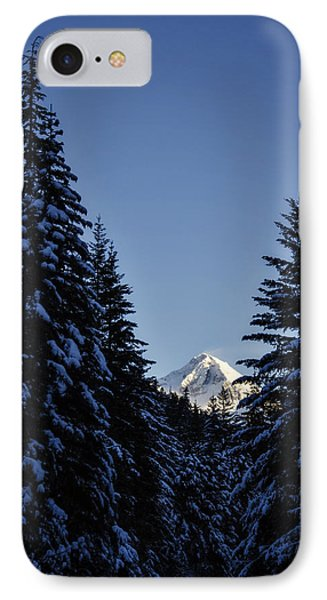 The Wedge Through The Trees IPhone Case by Pelo Blanco Photo