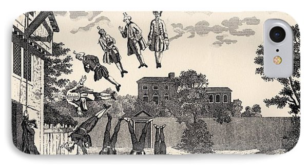 The Weighing House By William Hogarth IPhone Case