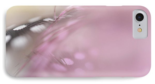 IPhone Case featuring the photograph The Whispers In The Morning. Angelic Series  by Jenny Rainbow