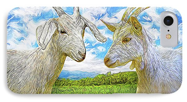 The Whispers Of Goats IPhone Case