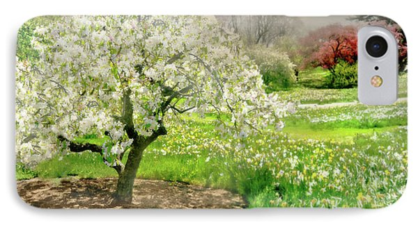 IPhone Case featuring the photograph The White Canopy by Diana Angstadt