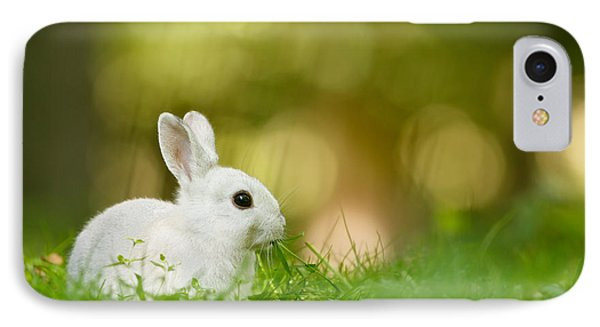 The White Rabbit IPhone Case by Roeselien Raimond