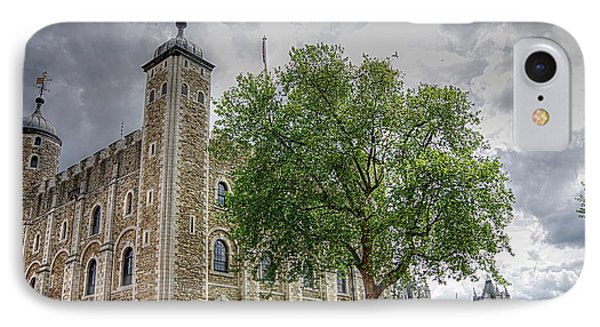 The White Tower IPhone Case