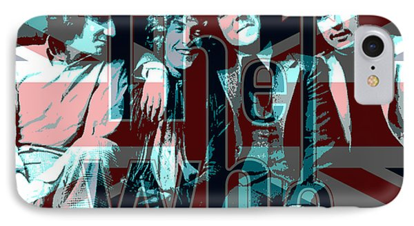 The Who Poster  IPhone Case by Enki Art