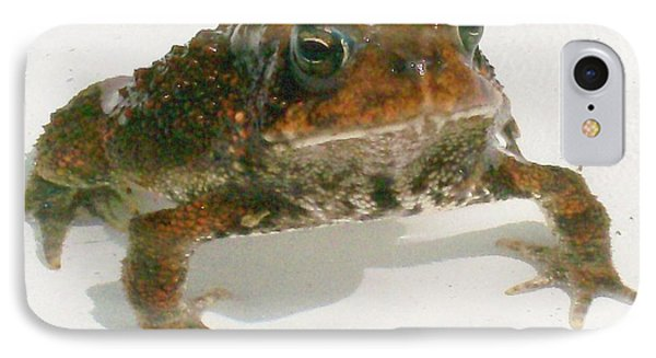 IPhone Case featuring the digital art The Whole Toad by Barbara S Nickerson