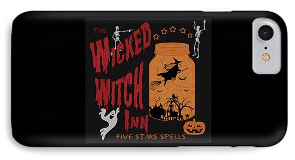 The Wicked Witch Inn IPhone Case by Georgeta Blanaru