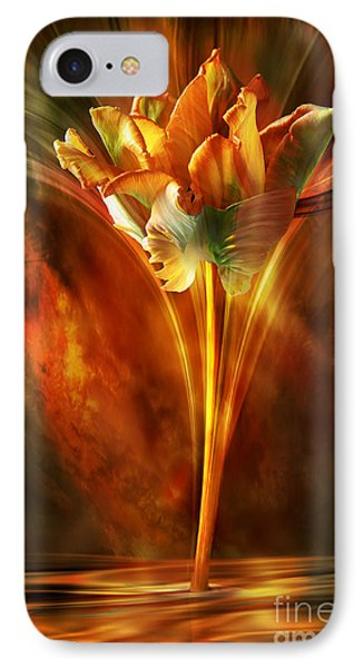 IPhone Case featuring the digital art The Wild And Beautiful by Johnny Hildingsson