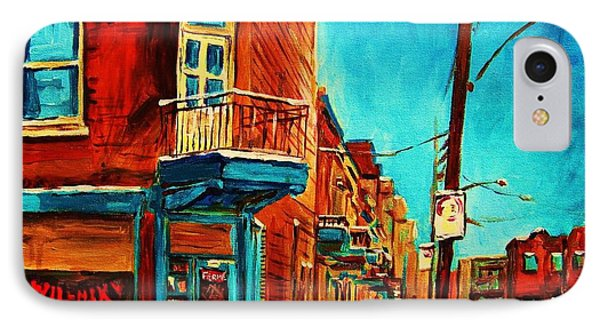 The Wilensky Doorway IPhone Case by Carole Spandau