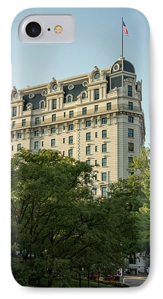 IPhone Case featuring the photograph The Willard Hotel by Chrystal Mimbs