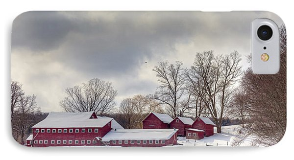 IPhone Case featuring the photograph The Williams Farm by Susan Cole Kelly
