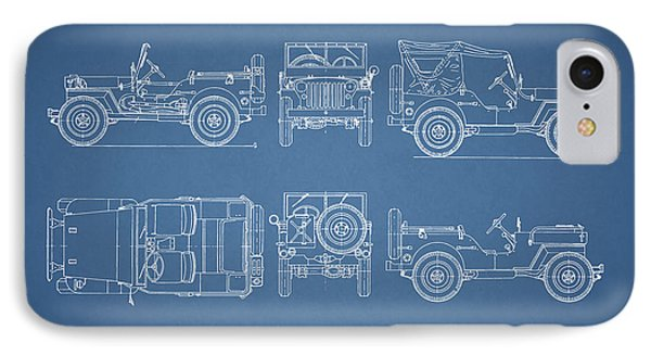 The Willys Jeep IPhone Case