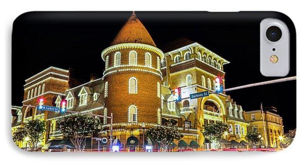The Windsor Hotel - Americus, Ga IPhone Case by Stephen Stookey