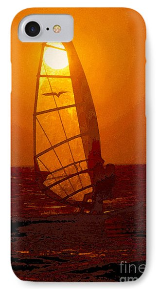 The Windsurfer IPhone Case by David Lee Thompson